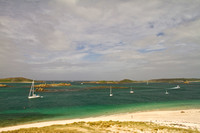 Tresco's sand and water