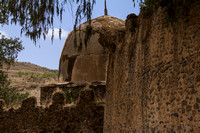 Gondar: at the site of Kuskuam Church and ruins of Empress Mentewab's complex