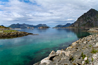 Henningsvaer's beautiful water