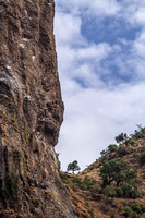 On our way from Bahir Dar to Gondar: God's Thumb